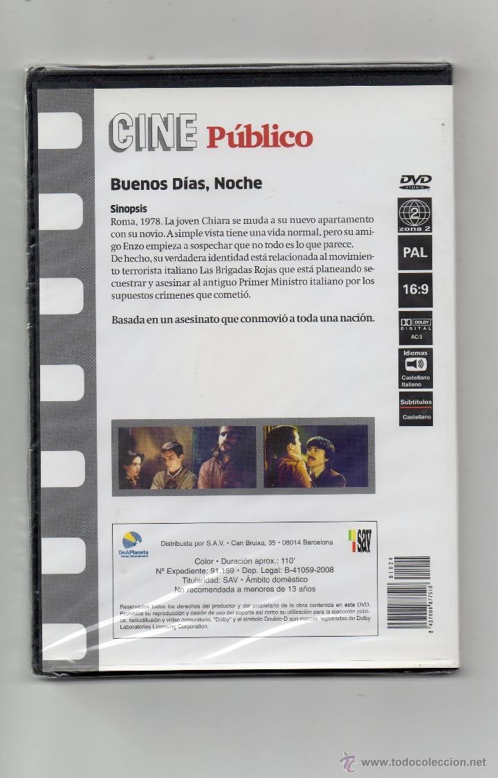 Cine: DVD, BUENOS DIAS, NOCHE, PRECINTADA. - Foto 2 - 53635846