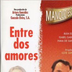 Cine: DVD ENTRE DOS AMORES - MANOLO ESCOBAR - INMA DE SANTIS ----REFM1E2. Lote 53668100