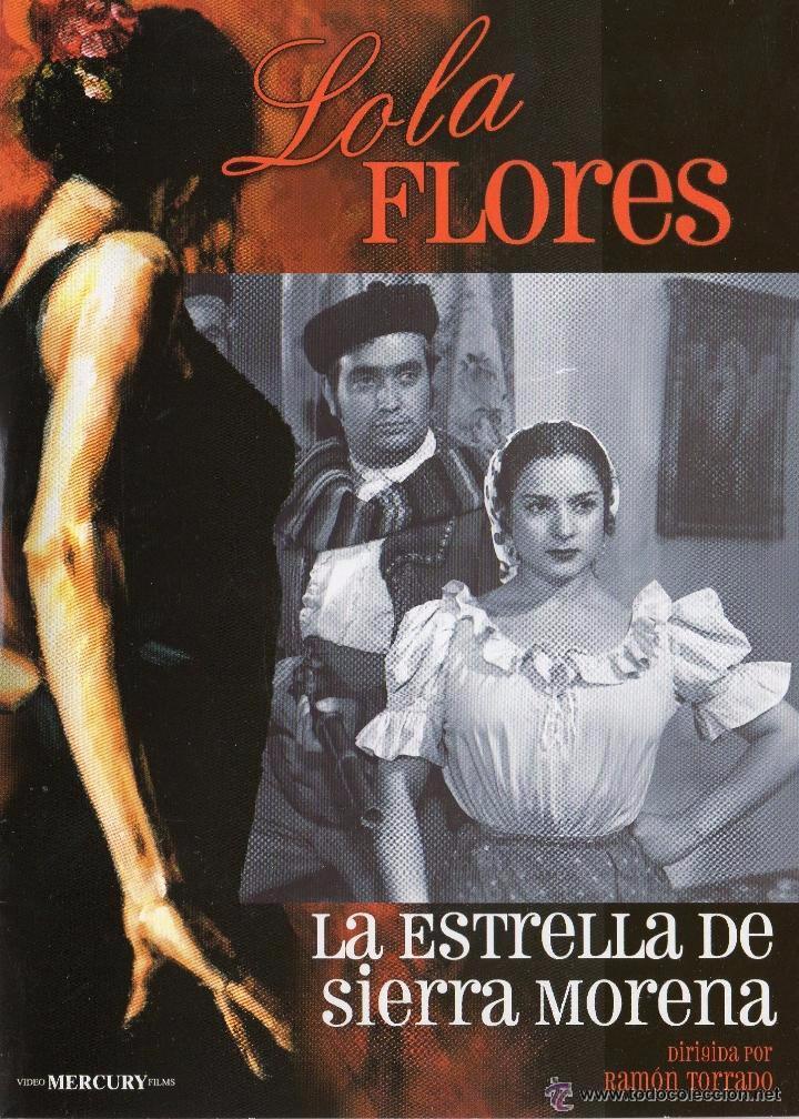 DVD LA ESTRELLA DE SIERRA MORENA - LOLA FLORES (Cine - Películas - DVD)