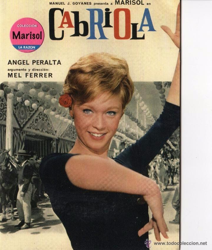 DVD CABRIOLA - MARISOL (Cine - Películas - DVD)