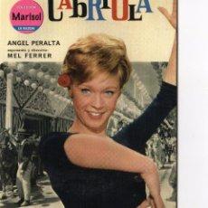 Cine: DVD CABRIOLA - MARISOL. Lote 53668296