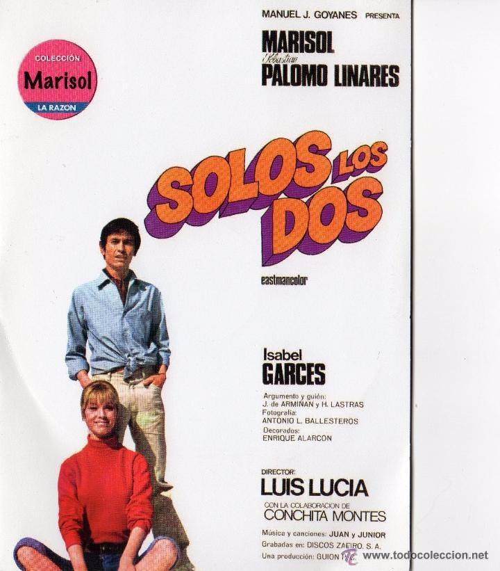 DVD SOLOS LOS DOS - MARISOL - PALOMO LINARES (Cine - Películas - DVD)