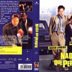 Cine: NADA QUE PERDER DVD. Lote 53717771