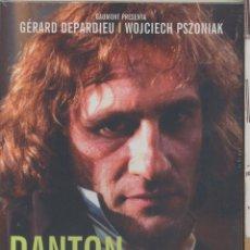 Cine: DANTON DVD: (130 MINUTOS) UNA OBRA IMPAGABLE SOBRE LA REVOLUCIÓN FRANCESA Y SUS PERSONAJES.. Lote 134546994