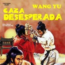 Cine: CAZA DESESPERADA (DVD PRECINTADO IMPORTACION) WANG YU - ARTES MARCIALES. Lote 171047188
