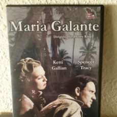 Cine: DVD - MARIA GALANTE / CON KETTI GALLIAN • SPENCER TRACY #1210. Lote 53761237