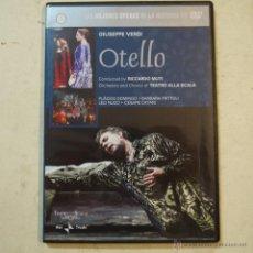 Cine: OTELLO DE GIUSEPPE VERDI - DVD . Lote 53796967