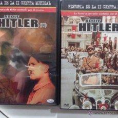 Cine: HISTORIA DE LA SEGUNDA GUERRA MUNDIAL LA HISTORIA DE ADOLF HITLER I Y II. Lote 53809724