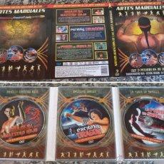 Cine: NUEVOS MAESTROS DE LAS ARTES MARCIALES 3 DVD EN SU ESTUCHE - SHAOLIN MAESTRO ROJO - EXCITING DRGON -. Lote 53815807