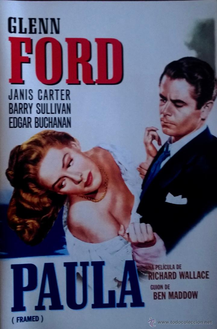 cine negro- paula ( framed) -glenn ford-film de - Comprar Películas ...