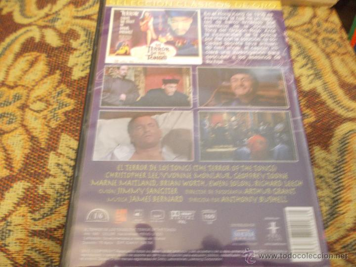 EL TERROR DE LOS TONGS.COLOR. CCON CHRISTOPHER LEE (Cine - Películas - DVD)