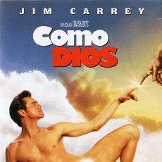 Cine: DVD COMO DIOS JIM CARREY. Lote 53883949
