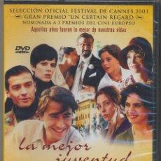Cine: LA MEJOR JUVENTUD DVD:( 1 DVD = 180 MINUTOS) UNA SAGA INOLVIDABLE Y SUPERPREMIADA.. Lote 119524839
