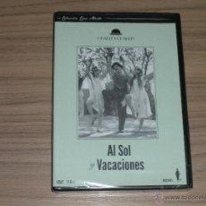 Cine: AL SOL Y VACACIONES DVD CHARLES CHAPLIN NUEVA PRECINTADA. Lote 245426260