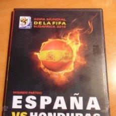 Cine: ESPAÑA - HONDURAS. COPA MUNDIAL DE LA FIFA SUDAFRICA 2010. DVD DEL PARTIDO.. Lote 53993777
