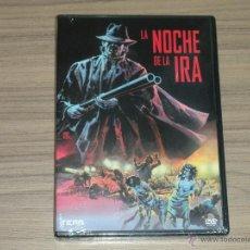 Cine: LA NOCHE DE LA IRA DVD TERROR NUEVA PRECINTADA. Lote 243779770