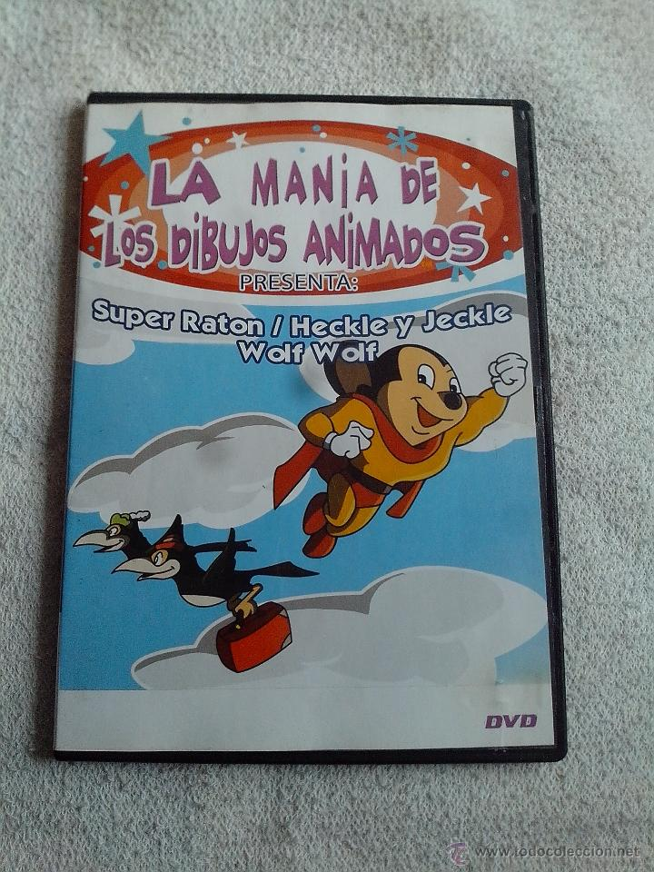 dvd super raton la mana de los dibujos animado  Comprar