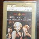 Cine: DVD - CON FALDAS Y A LO LOCO - DIRECTOR: BILLY WILDER. Lote 54161631