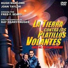 Cine: DVD. LA TIERRA CONTRA LOS PLATILLOS VOLANTES.. Lote 54171272