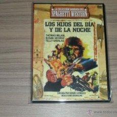 Cine: LOS HIJOS DEL DIA Y LA NOCHE DVD DE SERGIO CORBUCCI TELLY SAVALAS THOMAS MILLAN NUEVA PRECINTADA. Lote 194630253