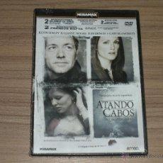 Cine: ATANDO CABOS DVD KEVIN SPACEY JULIANNE MOORE CATE BLANCHETT NUEVA PRECINTADA. Lote 159273700