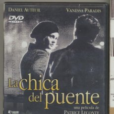 Cine: LA CHICA DEL PUENTE DVD: HISTORIA DE HUMOR PARA PRE-SUICIDAS Y DESESPERADAS... UN GRAN FILM.. Lote 54295315