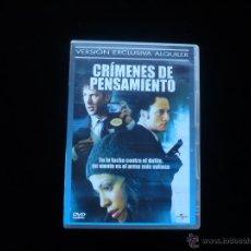 Cine: CRIMENES DE PENSAMIENTO. Lote 56525412