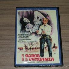 Cine: EL SABOR DE LA VENGANZA DVD RICHARD HARRISON NUEVA PRECINTADA. Lote 262417555