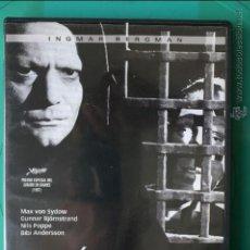 Cine: DVD EL SÉPTIMO SELLO. INGMAR BERGMAN. Lote 54357793