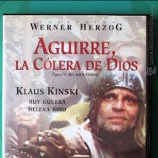 Cine: DVD AGUIRRE, LA CÓLERA DE DIOS. (KLAUS KINSKI) WERNER HERZOG. Lote 54358087
