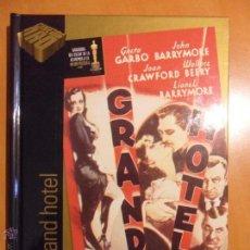 Cine: GRAN HOTEL. LIBRO DVD DE LA PELICULA DE GRETA GARBO, JOHN BARRYMORE, JOAN CRAWFORD, WALLACW BERRY Y . Lote 54405824