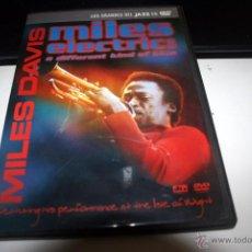 Cine: MILES DAVIS. DVD. Lote 54423992