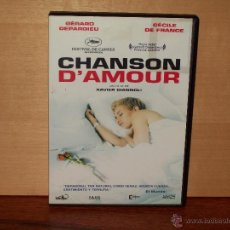 Cine: CHANSON DÁMOUR - GERARD DEPARDIU - CECILE DE FRANCE - DOIRIGIDA POR XAVIER GIANNOLI - DVD. Lote 54427417