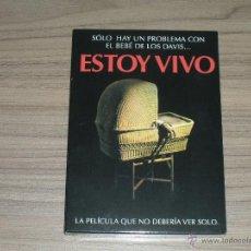 Cine: ESTOY VIVO EDICION ESPECIAL DVD DE LARRY COHEN TERROR NUEVA PRECINTADA. Lote 98727334