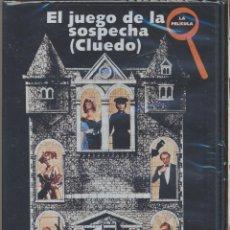 Cine: EL JUEGO DE LA SOSPECHA (CLUEDO) ADIVINE QUIEN ES EL ASESINO...NO ES QUIEN USTED PIENSA.. Lote 222721191