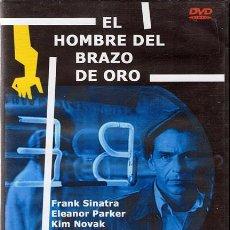 Cine: DVD EL HOMBRE DEL BRAZO DE ORO (PRECINTADO). Lote 54438653