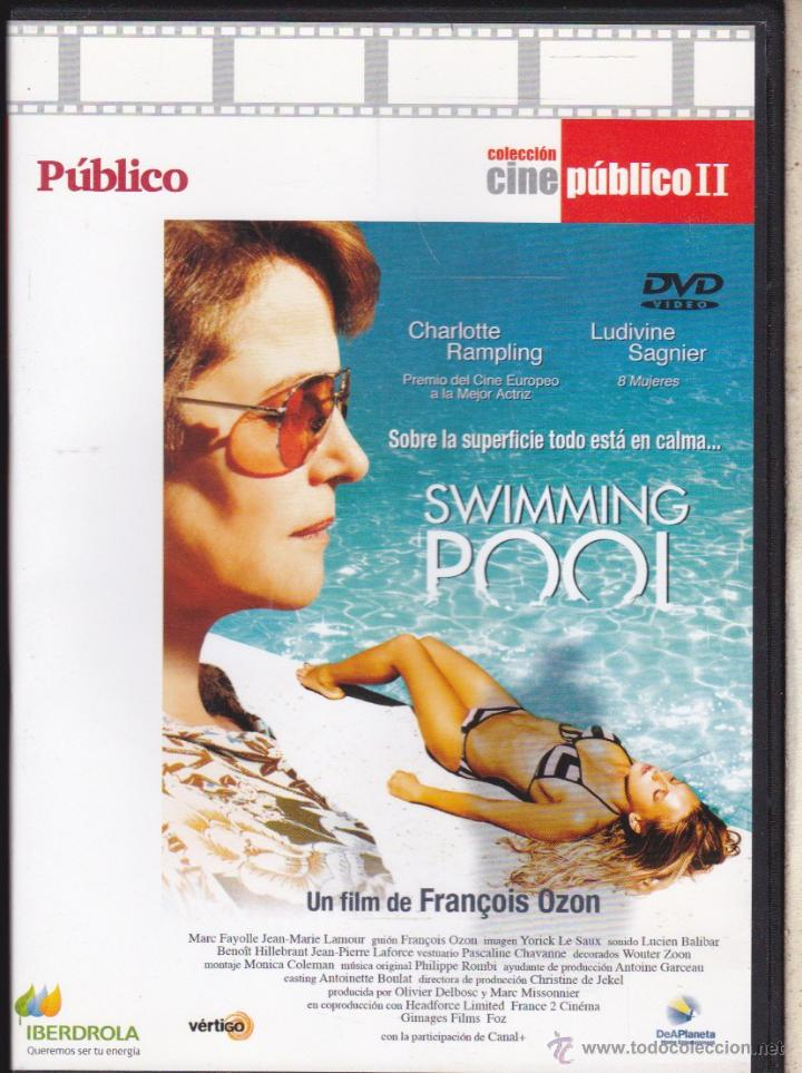 SWIMMING POOL ·····FRANCOIS OZON (Cine - Películas - DVD)