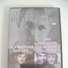 Cine: GRANDES DIRECTORES - KING VIDOR (DVD PRECINTADO). Lote 54467075