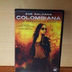 Cine: COLOMBIANA - ZOE SALDANA - DIRIGIDA POR OLIVIER MEGATON - DVD. Lote 245365675