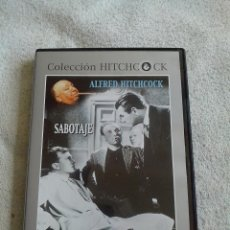 Cine: SABOTAJE DVD DE ALFRED HITCHCOCK CON SYLVIA SIDNEY Y OSCAR HOMOLKA. Lote 54576479