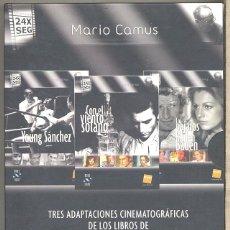 Cine: PACK MARIO CAMUS DVD (3 DVD) EXCEPCIONAL, RARO, IMPRESCINDIBLE Y... DESCATALOGADÍSIMO..(FNAC) LEER. Lote 54640982
