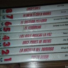 Cine: PACK PELICULAS DVD DE EL FUTBOL HIZO HISTORIA. Lote 98588127