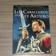 Cine: LOS CABALLEROS DEL REY ARTURO EDICION COLECCIONISTA DVD REMA. + LIBRO 32 PAG. + 10 FOTOS PRECINTADA. Lote 134351075