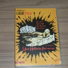 Cine: UNA HISTORIA PERVERSA DVD JEAN SOEL MARISA ELSA MARTINELLI JOHN IRELAND GIALLO NUEVA PRECINTADA. Lote 186212377