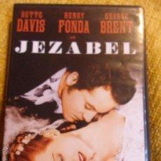 Cine: JEZABEL. DVD DE LA PELICULA DE WILLIAM WYLER. CON BETTE DAVIS Y HENRY FONDA.. Lote 54718994