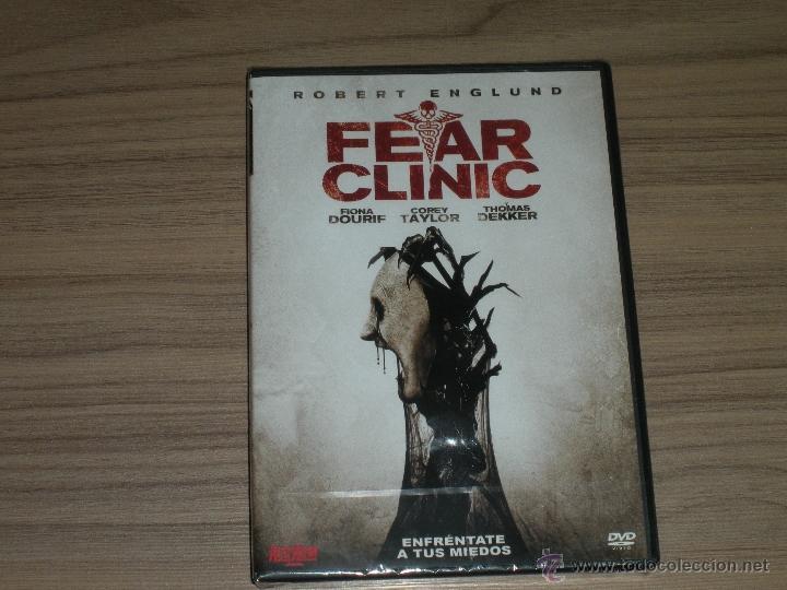 Fear Clinic Dvd Robert Englund Nueva Precintada Verkauft Durch
