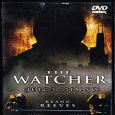 Cine: DVD ORIGINAL * THE WATCHER (JUEGO ASESINO) *. DESCATALOGADO. PRECINTADO.. Lote 54778287