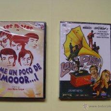 Cine: LOTE 2 DVD: DAME UN POCO DE AMOR - LONG PLAY (CINE MUSICAL ESPAÑOL) ¡ORIGINALES!. Lote 54803267