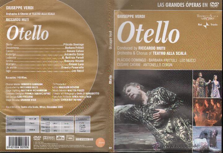 OTELLO-- GIUSEPPE VERDI ...DVD (Cine - Películas - DVD)