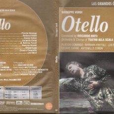 Cine: OTELLO-- GIUSEPPE VERDI ...DVD. Lote 54826884